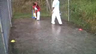 Ingram Jones Cricket Coaching Mens Batting Session in Grenada In th...