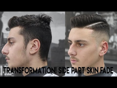 Haircut Tutorial || Side Part ||  Hard Part || Kieron The Barber ||