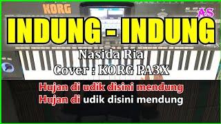 INDUNG INDUNG - Nasida Ria - Karaoke Qasidah ( Cover ) Korg pa3x