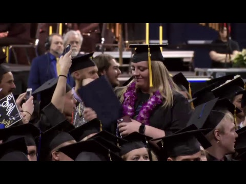 Montana State University Fall 2017 Commencement Ceremony