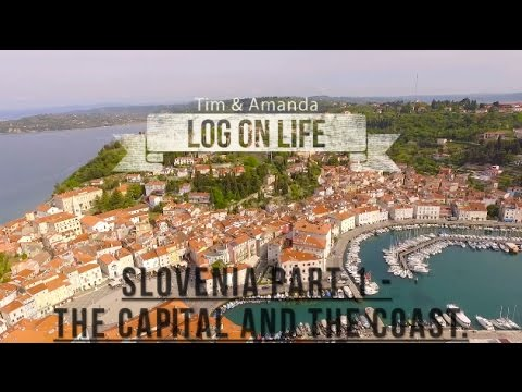 Slovenia Travel Video Part 1 - The Capital and the Coast (Ljubljana and Piran).