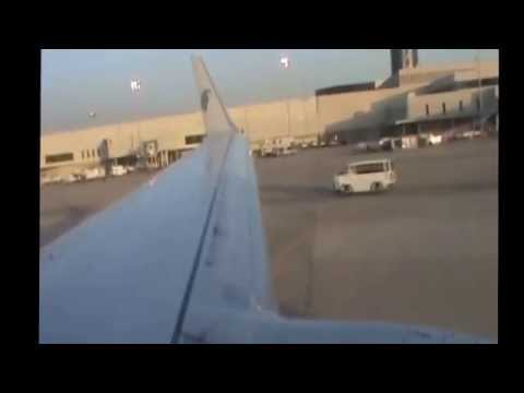 EGYPTAIR 737 800 Departure from Beirut HD