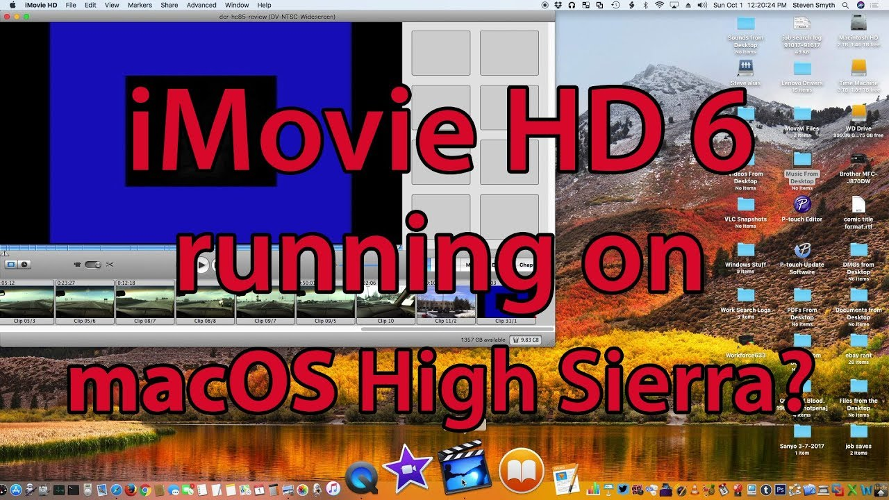 Imovie Hd For El Capitan