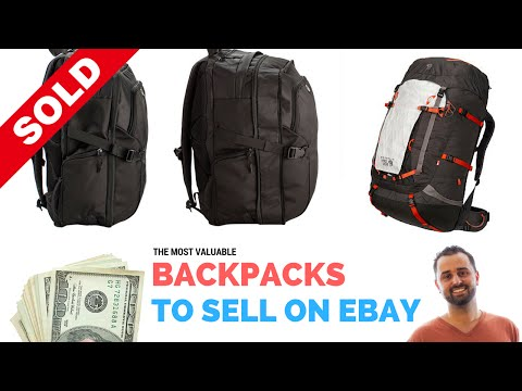 Valuable Backpacks That Sell on Ebay For $100 to $1,000 [ Best Items to Sell on Ebay ]