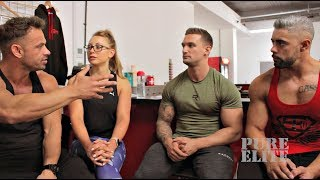 Fitness Model Pro's get ready for the World Championship
