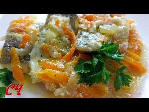 Как вкусно приготовить минтай на сковороде с овощами