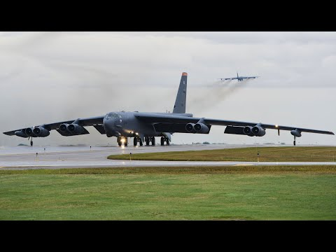 B-52 Stratofortress Take Off U.S. Air Force