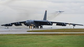 B-52 Stratofortress Take Off U.S. Air Force