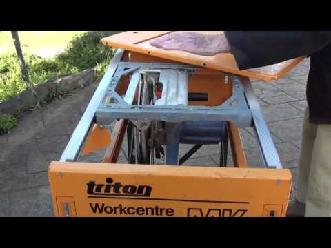 Patio Renovation 9 - Tips to easily fix an older Triton Bench saw and avoid the unexpected