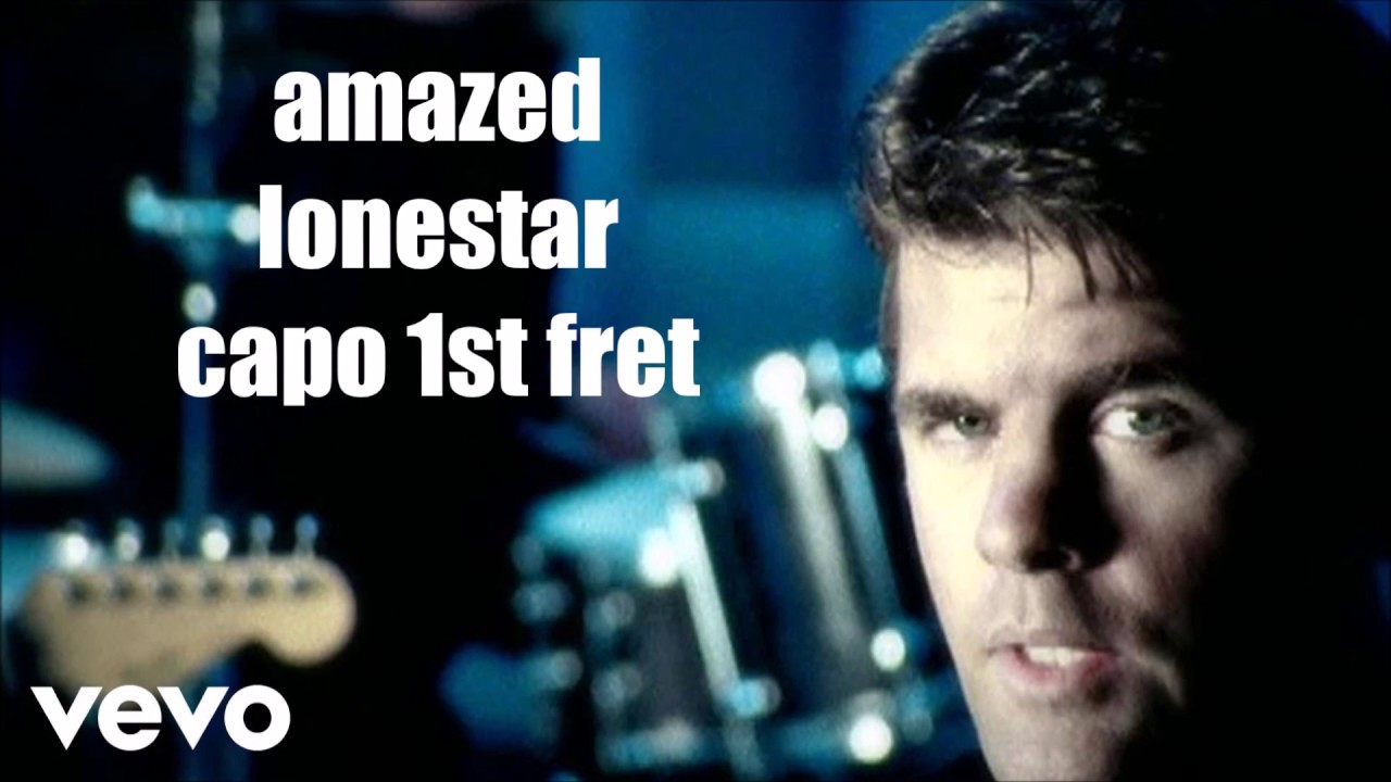 Amazed Lonestar Lyrics And Chords Youtube
