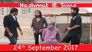 Hashmat Ki Kidnapping | Hashmat & Sons | SAMAA TV | 24 Sept 2017