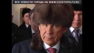 Визит президента Минниханова в Лениногорск