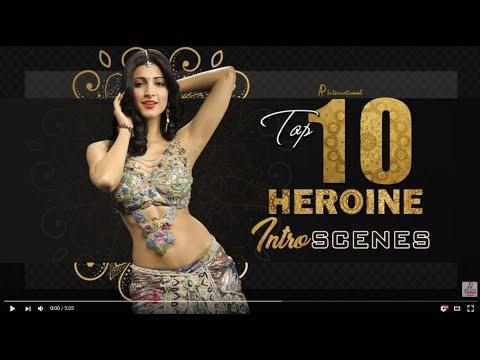 Tamil Heroine Intro Scenes | Jyothika | Trisha | Sruthi Haasan | Sri Divya | Nikki Galrani | Anjali