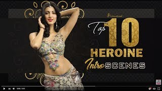 Tamil Heroine Intro Scenes   Jyothika   Trisha   Sruthi Haasan   Sri Divya   Nikki Galrani   Anjali