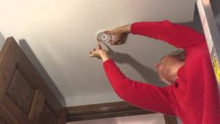Installing A Battery Operated Smoke Alarm