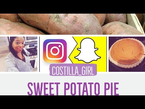 Look Out Patti LaBelle! My Favorite SWEET POTATO PIE RECIPE Passed Down For Generations