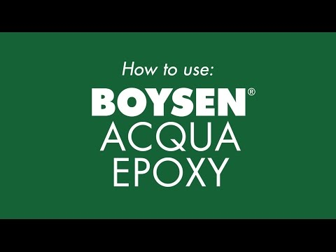 How to use: BOYSEN Acqua Epoxy