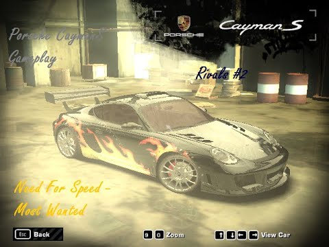 Need For Speed Most Wanted - PORSCHE Cayman S Gameplay[PC HD][1080p60FPS]