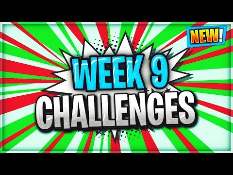 FORTNITE WEEK 9 CHALLENGES LEAKED SEASON 4  / Fortnite Battle Royale