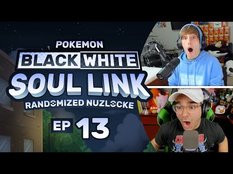 Pokemon Black & White Soul Link EP 13 | 50 BUCKS! 💰