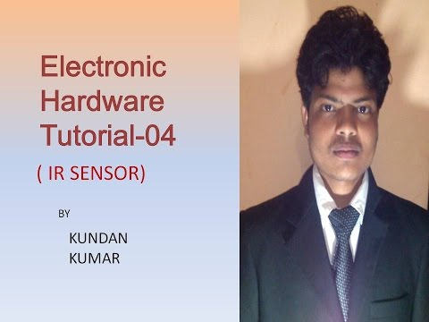 Electronic hardware tutorial 4 || (how to make IR Sensor) ||
