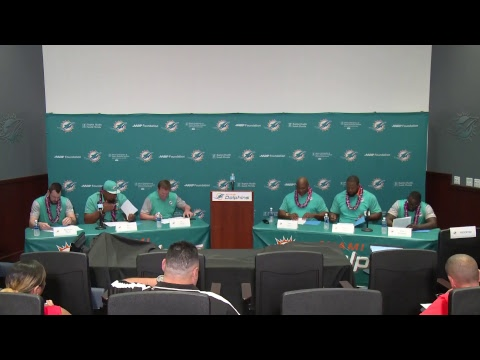 Dolphins Live: Six alumni sign contracts to officially retire as members of the Miami Dolphins.