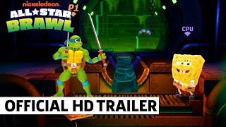 Nickelodeon All Star Brawl Leonardo Gameplay Showcase