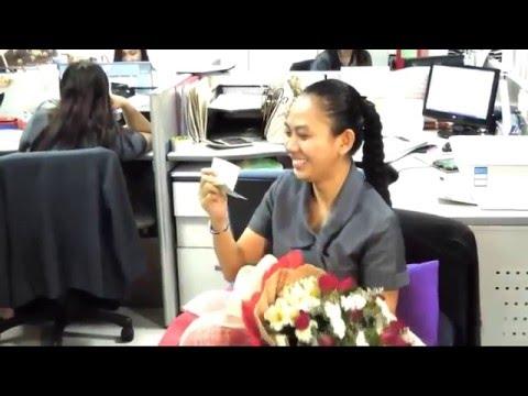 Singing telegram / Harana / Serenade & flowers for Ms. Macy Igay by Flowers for Mariaclara