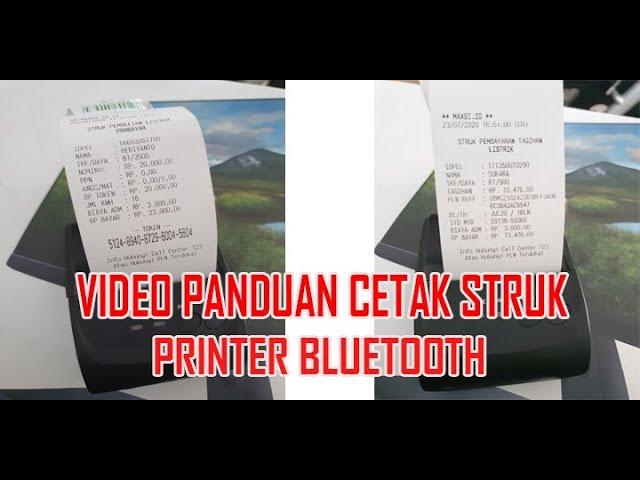 Panduan Cetak Struk Printer Bluetooth