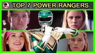 Power Rangers: Top 7 TEMPORADAS de todos los POWER RANGERS