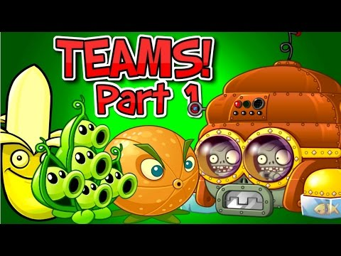 Plants vs. Zombies 2 DISCO TRON 3000 vs Team Plants ✔