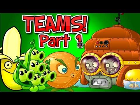 Plants vs. Zombies 2 DISCO TRON 3000 vs Team Plants ✔