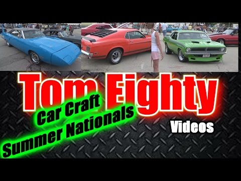 Car Craft Summer Nationals: Cars leaving as wild storm approaches