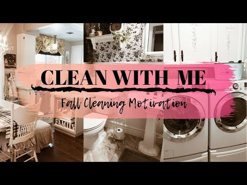 COZY FALL CLEAN WITH ME | FALL CLEANING ROUTINE | CLEANING MOTIVATION