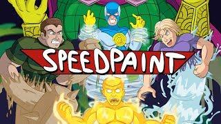 SPIDER-MAN: FAR FROM HOME (<b>616</b>) - Esh Draws (SPEEDPAINT ...