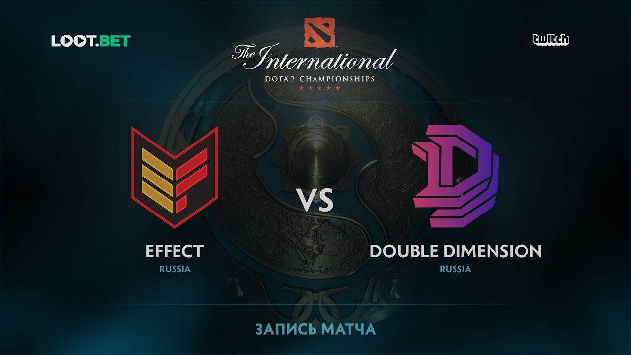 Effect vs Double Dimension, The International 2017 CIS Qualifier