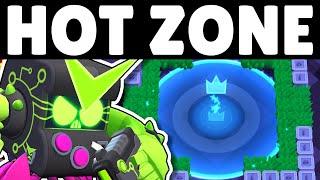 Gambar cover UPDATE SNEAK PEEK: Hot Zone Mechanics & Gameplay! | Random Brawlers in Hot Zone