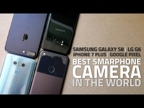 Best Smartphone Camera | Samsung Galaxy S8 vs iPhone 7 Plus vs Google Pixel vs LG G6