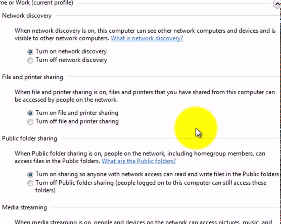 Khắc phục không truy cập được mạng lan Win7 và XP