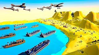 EPIC WW1 D-DAY INVASION - Battle of Gallipoli in Ancient Warfare 3!