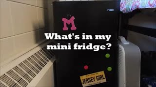 What's in my mini fridge??