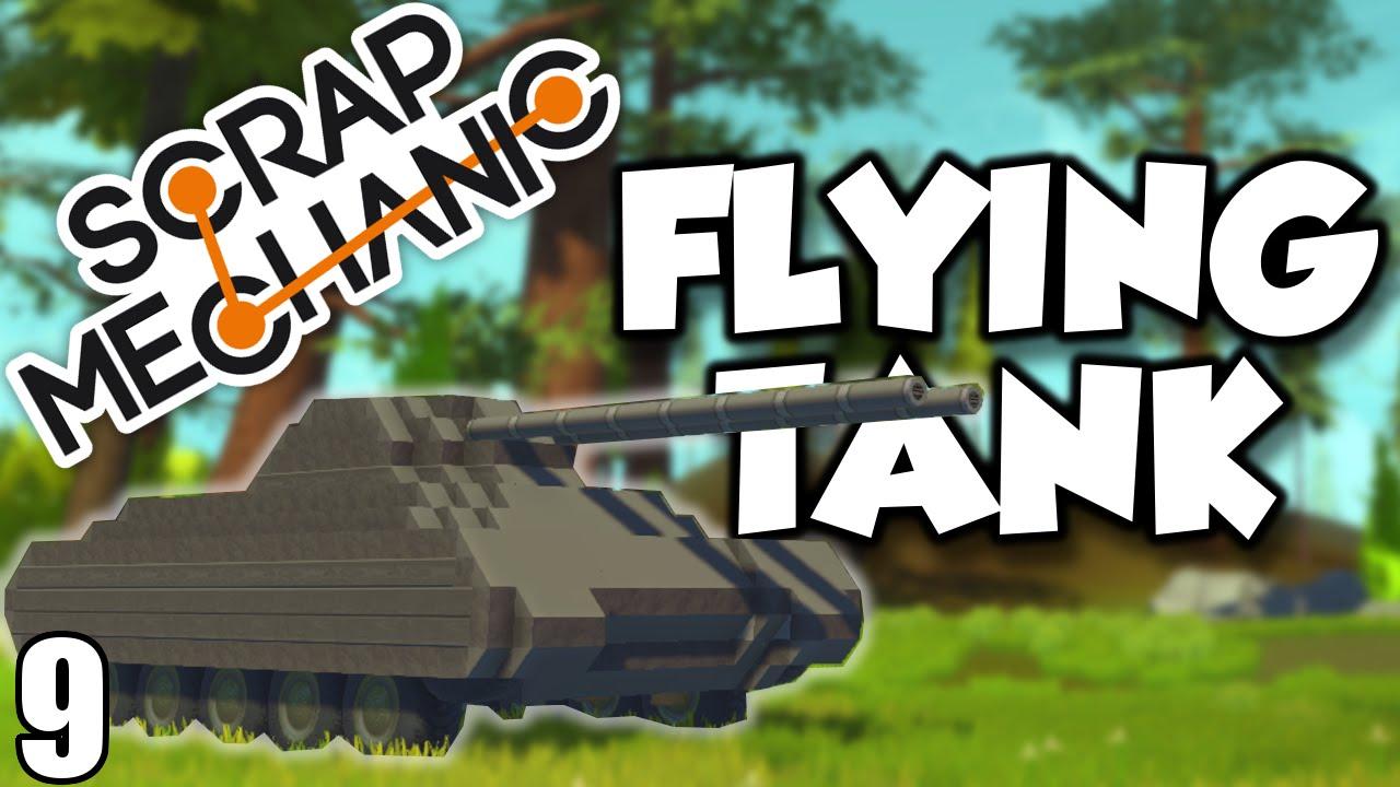 how to make a flying machine in scrap mechanic