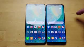 Unboxing the Huawei Mate 20 and Mate 20 Pro