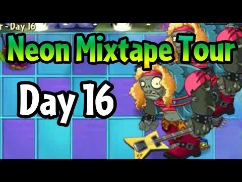 Plants vs Zombies 2 - Neon Mixtape Tour Day 16: Ultimate Battle
