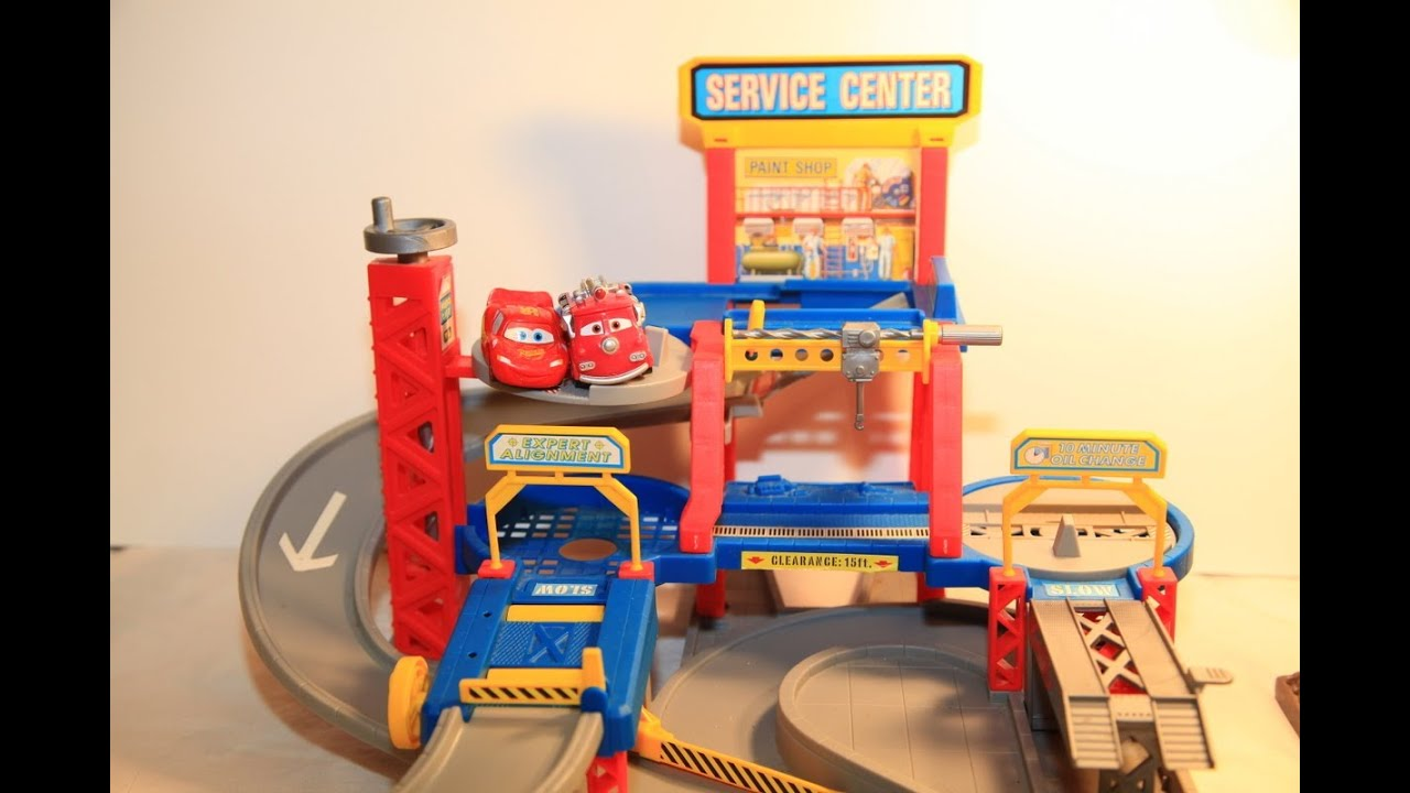 hot wheels cars world service center 1996 toy play set. Black Bedroom Furniture Sets. Home Design Ideas