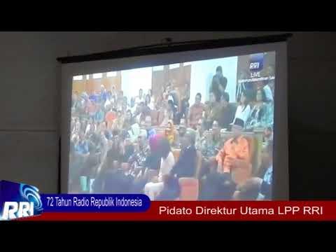 Penyulutan Obor Tri Prasetya 72 Tahun Hari Bakti Radio di RRI Bogor