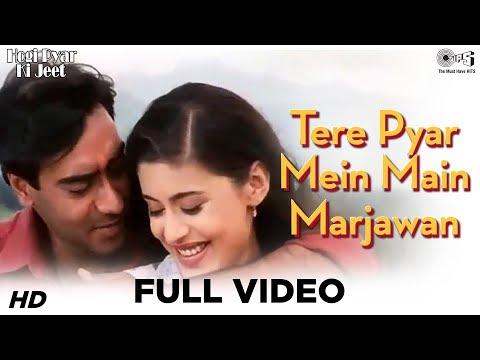 Tere Pyar Mein Main Marjawan - Full Video | Hogi Pyaar Ki Jeet | Ajay Devgan & Neha