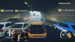 Forza Horizon 2 Honda Civic EK Street Racing Drag Pulls/Tuning/Digs w/Wheel Cam