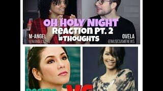 Regine Velasquez VS So Hyang - Oh Holy Night Reaction Pt.2 #Thoughts