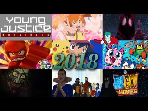 las series y películas animadas del 2018 | video series
